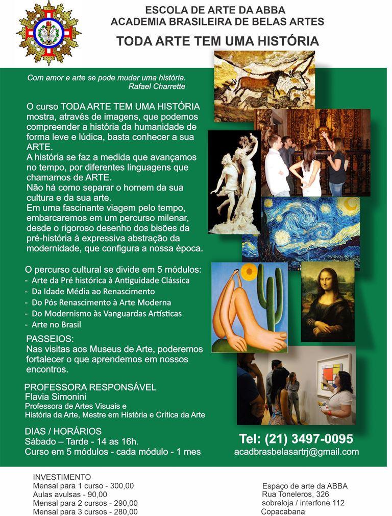 APRESENTAÇÃO HISTORIA DA ARTE versão 17 - Curso de História da Arte