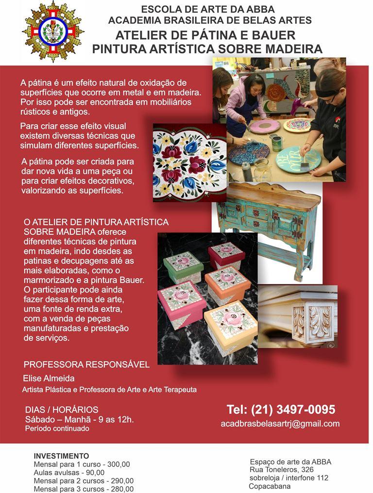APRESENTAÇÃO PATINA E BAUER versão 17 - Atelier de Pátina e Bauer | Pintura Artística Sobre Madeira