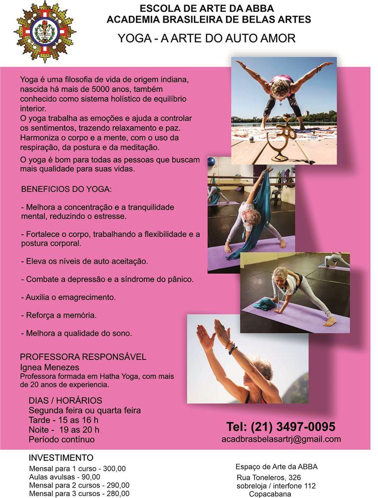 APRESENTAÇÃO YOGA versão 17 - Yoga - A Arte do Auto Amor