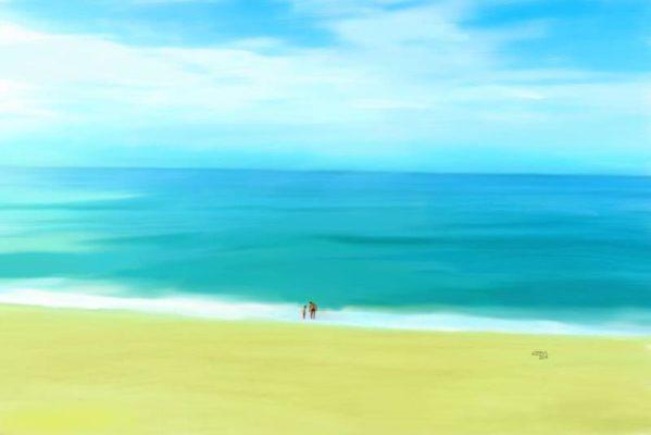 2019 Praia da Barra Pintura digital Marcelo Azeva 599x400 - Marcelo Azevedo dos Santos (Marcelo Azeva)
