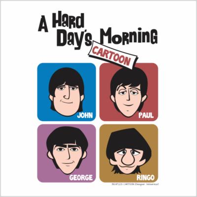 Arte The Beatles Cartoon 400x400 - Marcelo Azevedo dos Santos (Marcelo Azeva)