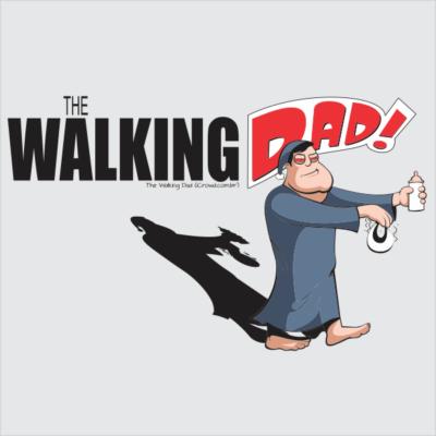 Arte The Walking Dad 400x400 - Marcelo Azevedo dos Santos (Marcelo Azeva)