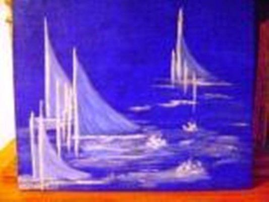 Marinha Abstrato 533x400 - Vera Lucia Gonzalez Teixeira