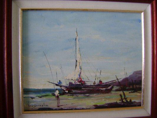 Marinha Melhor obra do salão 533x400 - Vera Lucia Gonzalez Teixeira