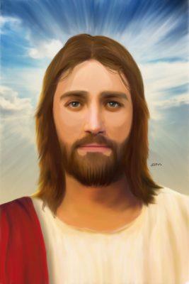 Ver 3 2019 Pintura Digital Jesus ceu azul 1500px 267x400 - Marcelo Azevedo dos Santos (Marcelo Azeva)