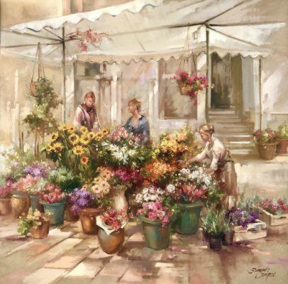 Mercado de Flores em Berlim 406x400 - Simone Campos