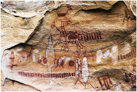 Serra da Capivara – Piaui – Brasil Desenhos pre historicos datados de ate 50 000 anos - Home
