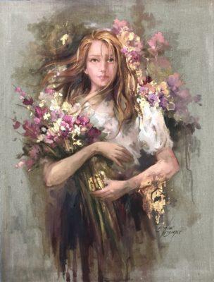 a obra Luz das Flores 304x400 - Simone Campos